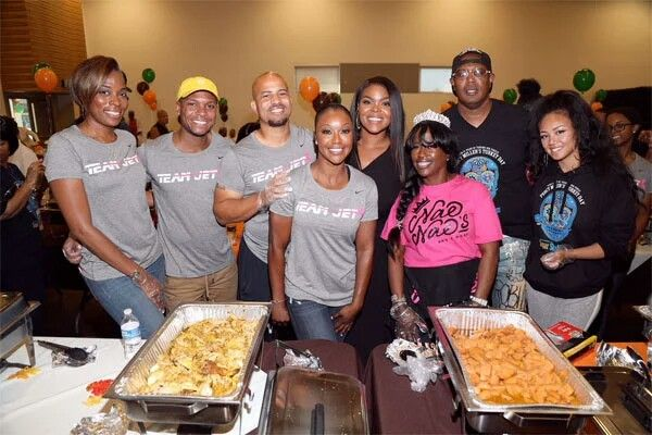 THANKSGIVING IN THE 'A': Ludacris & Eudoxie, NeNe Leakes, Marlo Hampton, Exes Keshia Knight Pulliam, Master P & Big Tigger Hand Out Food & Coats