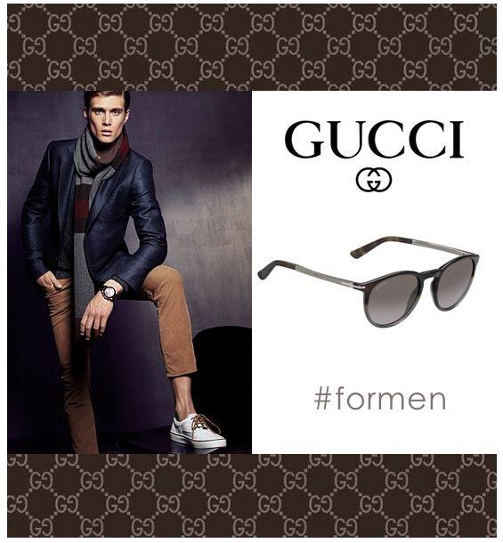 Occhiali di alta moda e #stileitaliano da #artigianato tradizionale. Gucci producebeni di #lusso con #coscienzaglobale, con uno stile moderno ed unico. http://www.viegi.com/gucci-gg1110-s-uomo.html
