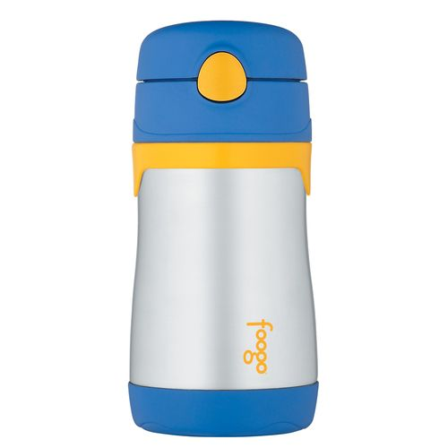 Reliable Thermos Foogo Vacuum 10oz Straw Bottle, And Digestion Helping magenta/blue 2 Pack