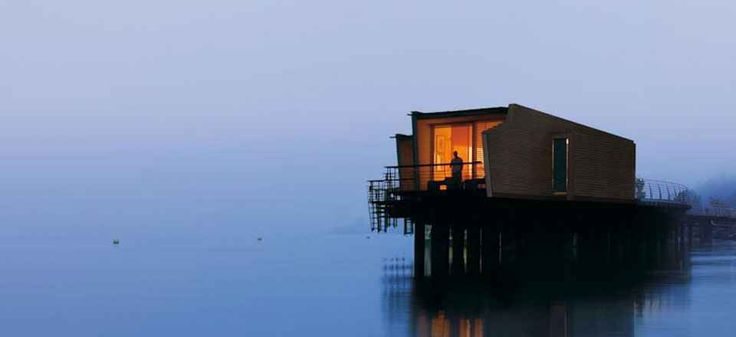 Palafitte Hotel   The only hotel in Europe built on stilts, the Palafitte enjoys an exceptional setting. Book Unique Hotels up to 70% off clicking on photo. #designhotels