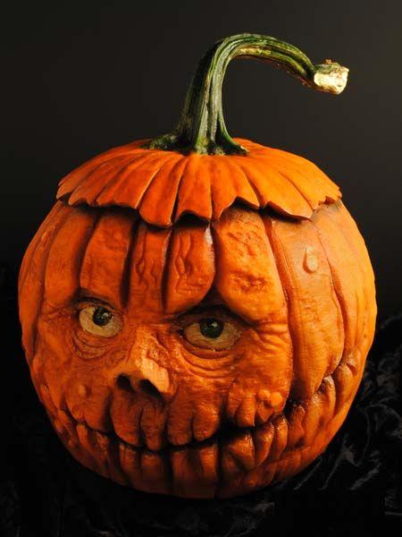 Pumpkin Head from the 2013 Pumpkin Carving Contest