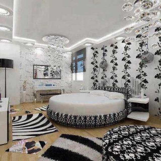 Bedroom Decor Black N White 186 best black and white rooms -- home decorating images on