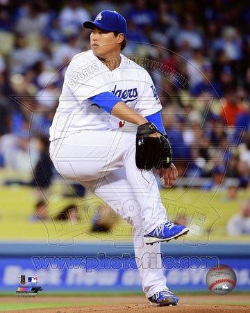 Los Angeles Dodgers - Hyun-Jin Ryu Photo