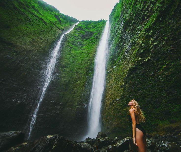 Hiilawe Falls, Waipio Valley.