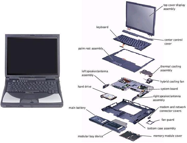 laptop components | Laptop parts comes in different categories. A laptop notebook is a ...