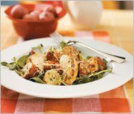 Chicken Caesar Potato Salad