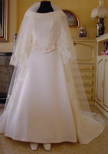 Vestidos novia wallapop