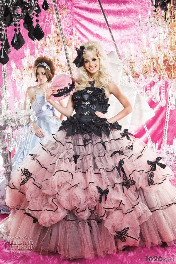 A Lolita Wedding Dress You Can Cosplay In This Or Use This In Your Wedding