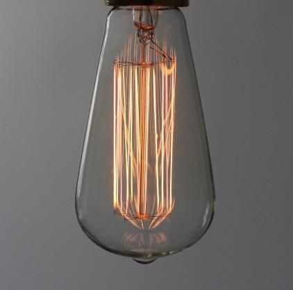 large squirrel cage decorative filament light bulb - Decorative Light Bulbs