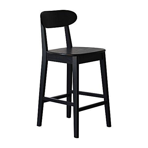 Henry Bar Stool, Black from Life Interiors $180