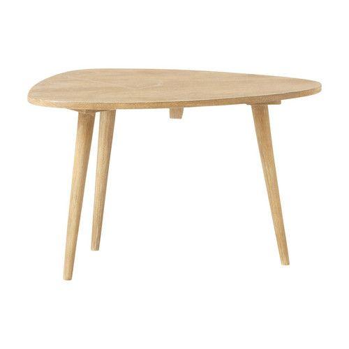 Table basse vintage en manguier massif L 62 cm Trocadéro | Maisons du Monde 79€99