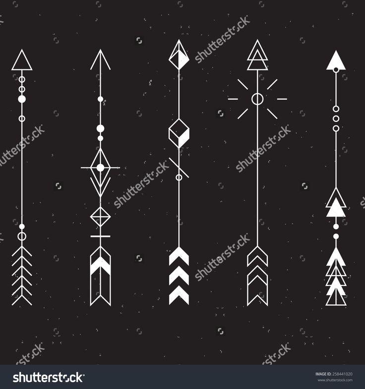 Arrow Tattoo Stock Vectors & Vector Clip Art | Shutterstock