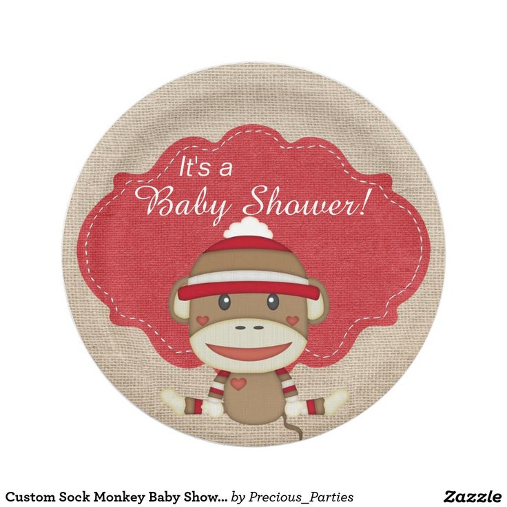 18 best Sock Monkey Party Supplies and Gifts images on ...