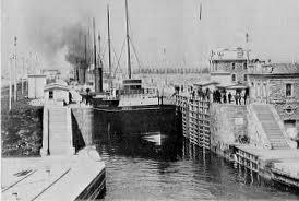 1885 - Sault Locks