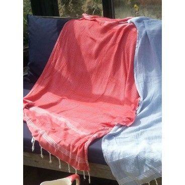 Ekologiczny, miękki, delikatny ręcznik z bambusowej bawełny. 100x170 cm