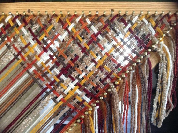 Tri loom cut strand methods. Takes a little longer but I like it.
