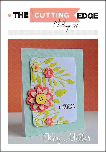 Pretty floral card. . .