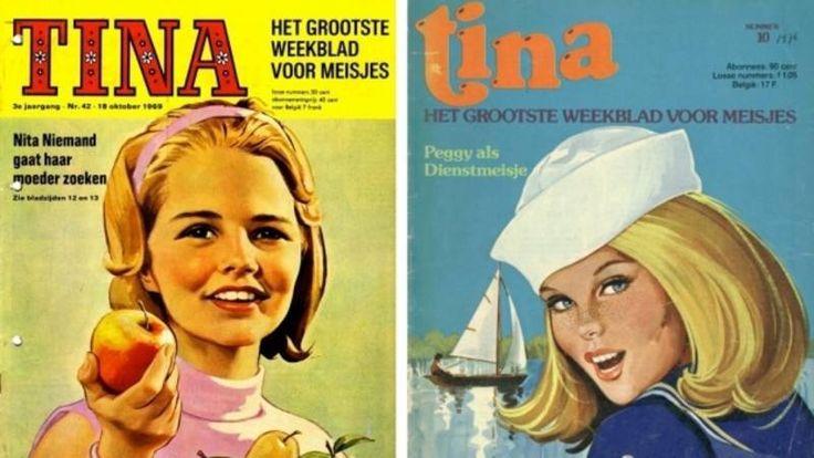 Het 50-jarig bestaan van het stripblad voor meisjes wordt gevierd met een festival in Duinrell. Sommige meiden komen met hun moeder, die vroeger zelf ook de Tina las.