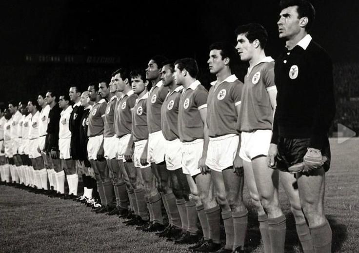Benfica - Santos de Pelé   Estádio da Luz  Taça Intercontinental  1962
