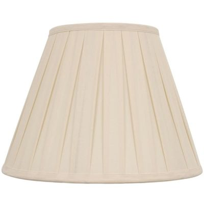 Allen Roth Lamp Shade S 0305 11 In X 15 In Cream Fabric Bell
