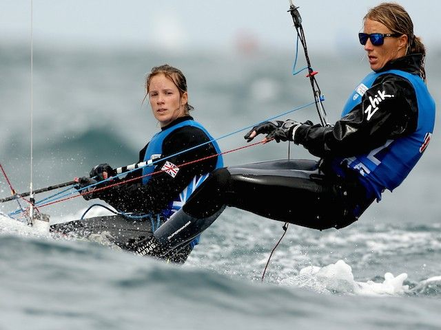 Team GB sailors Hannah Mills, Saskia Clark forced to wait for gold