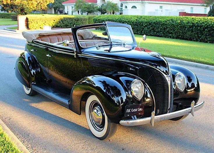 1938 Ford Convertible Sedan | MJC Classic Cars | Pristine Classic Cars For Sale …