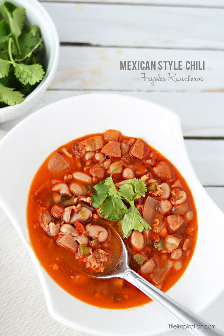 "Mexican Style Chili ""Frijoles Rancheros"" Recipe"
