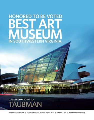 Taubman Museum of Art | Roanoke - Things to Do | Pinterest ...