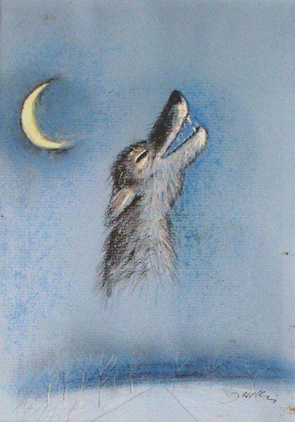 Wolf by Józef Wilkoń for Wilczek