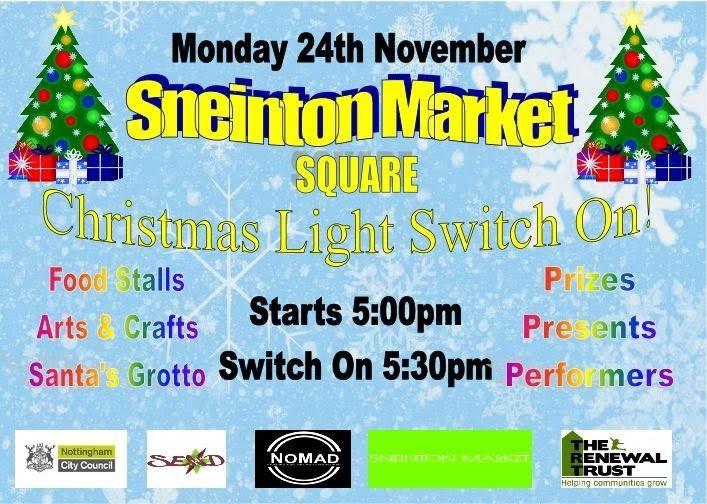 Light the lights at Sneinton Market - Sneinton Alchemy
