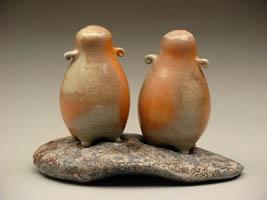 Tara Wilson. They look like little penguins.