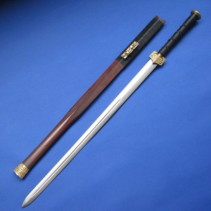 Chinese Sword(Jian) VS japanese sword (katana) Chinese ...
