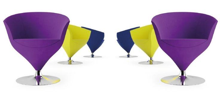 Chair Feuss 1620 PO, by Cizeta