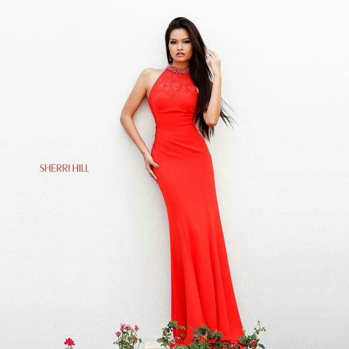Sherri Hill, Red Dress