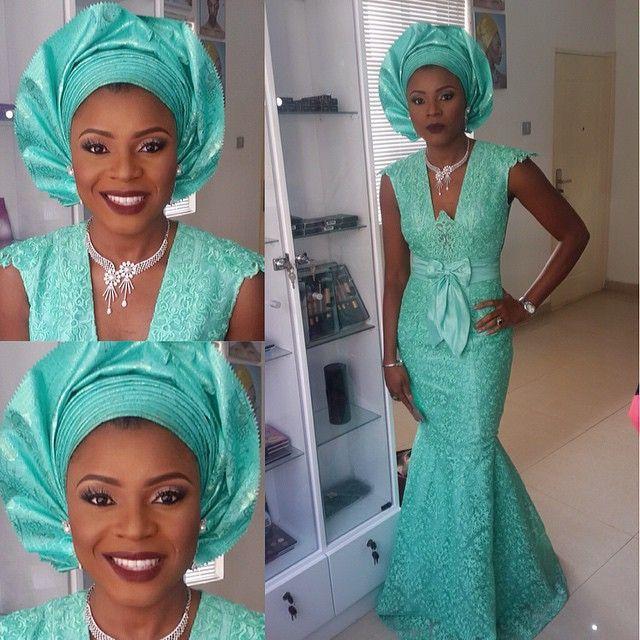Creative Wedding Lace Gown - DeZango Fashion Zone ~African fashion, Ankara, kitenge, African women dresses, African prints, Braids, Nigerian wedding, Ghanaian fashion, African wedding ~DKK