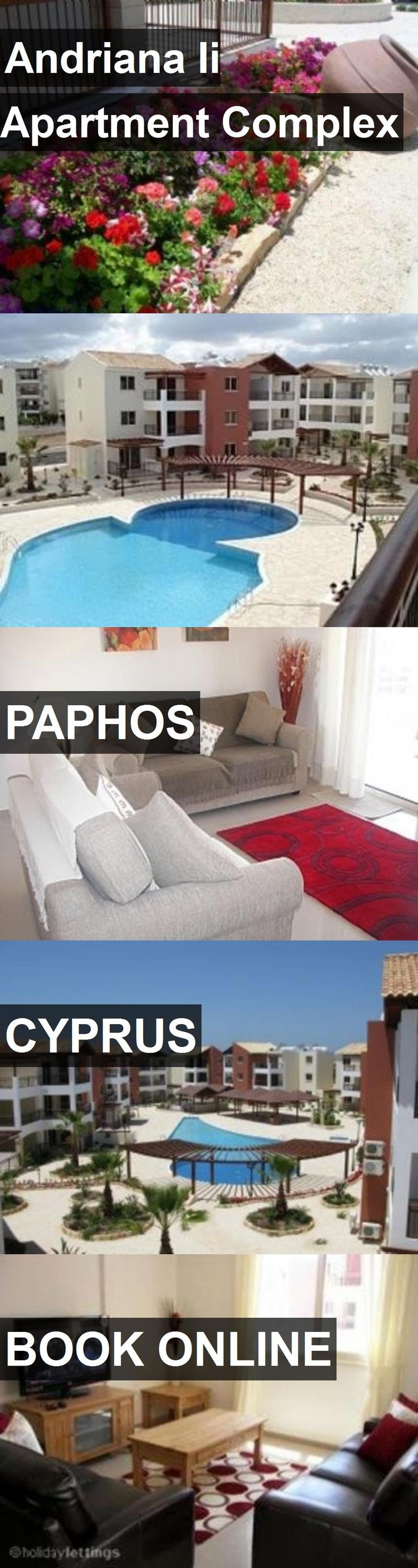 Andriana Ii Apartment Complex in Paphos, Cyprus. For more information, photos, reviews and best prices please follow the link. #Cyprus #Paphos #travel #vacation #apartment