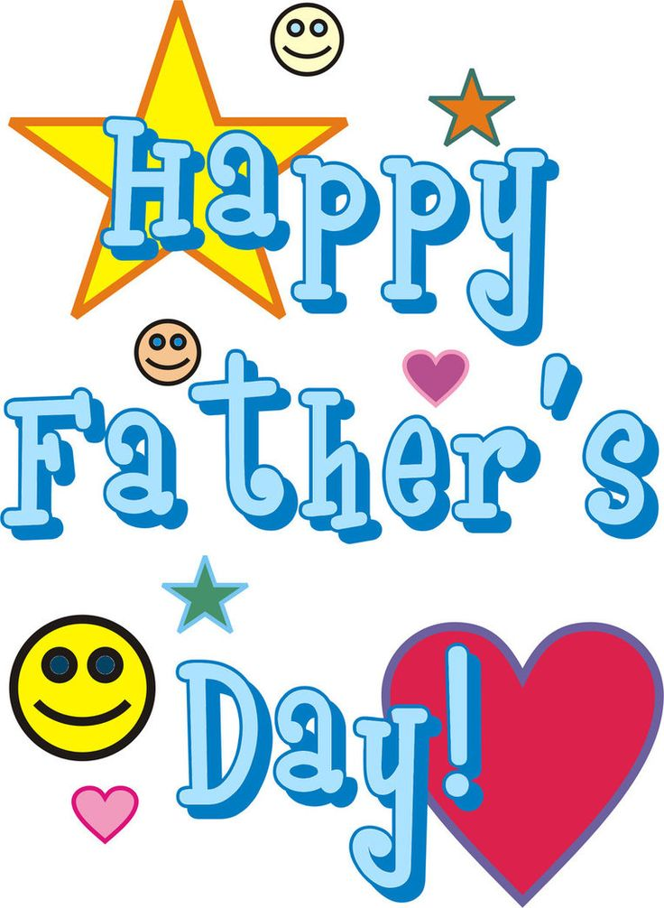 82 best fathers day clip art images on pinterest father s day rh pinterest com clip art father's day cards clipart father's day+religious