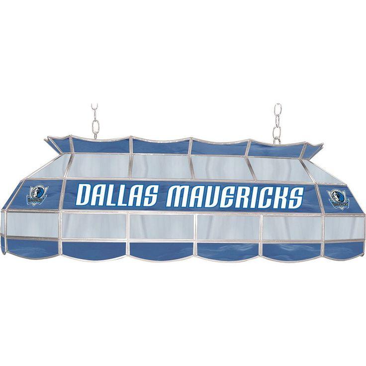 "Dallas Mavericks 40"" Tiffany-Style Lamp, Multicolor"