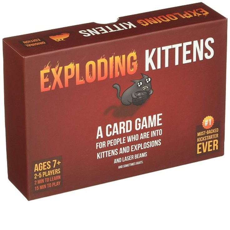 Exploding Kittens: A Card Game About Kittens and Explosions and Sometimes Goats – Novelty Gift Ideas