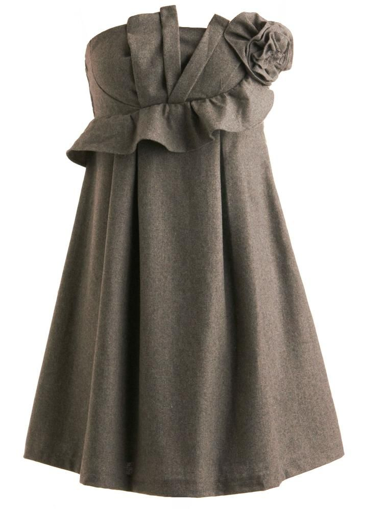 Rickety Rack Sculpted Wool Dress - this is gorgeous!!