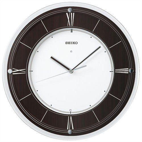Amazon.co.jp: SEIKO CLOCK (セイコークロック) 掛け時計 インターナショナル・コレクション 電波時計 木枠 KX321B: ホーム&キッチン