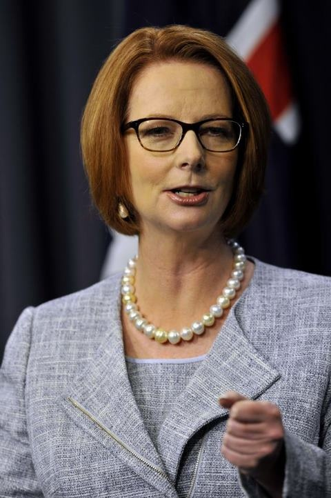 Our Prime Minister will need all luck in the world to be re-elected and then some. Vote for her and ALP.