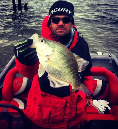 Mercury pro team member kevin rogers and fall feeding for Crappie fishing secrets