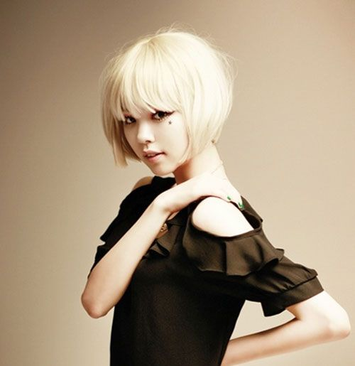 asian short hairstyles | Short bob haircut styles will be popular in 2013 , as well. Short bob ...