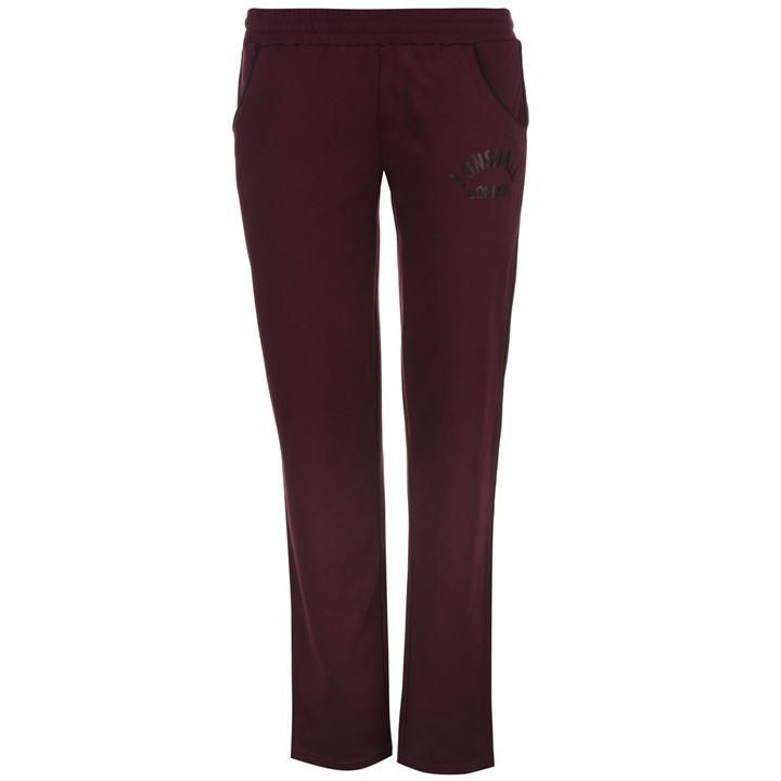 Lonsdale | Lonsdale Logo Jersey Pants | Ladies Jogging Bottoms