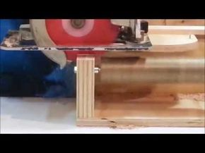 How To Cut Tenons with a Circular Saw! - YouTube