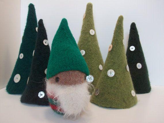 elf plush, elf doll, stuffed elf, knitted elf toy, felted elf, Santa's helper,  amigurumi elf, cute elf, toy elf, Christmas plush