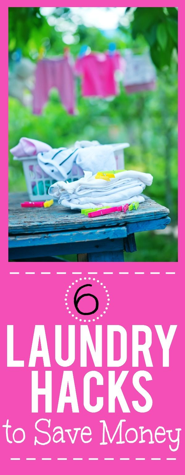 6 Easy Laundry Hacks to Save You Money -There's no way of getting of doing…