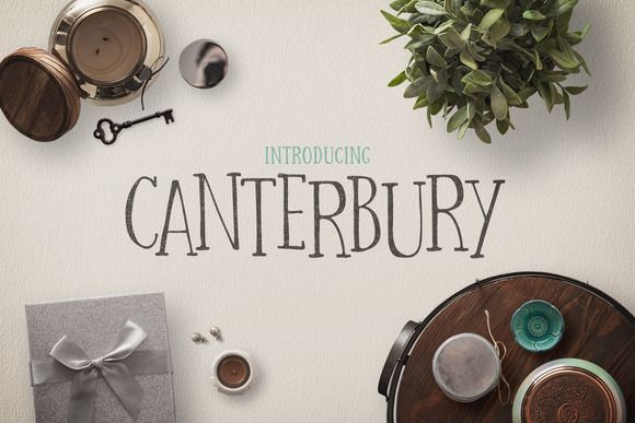 Canterbury + Bonus Mockups by Design Panoply on @creativemarket
