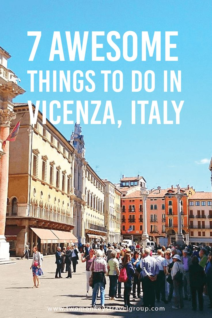 One of the richest cities in Italy, Vicenza is located Northern East of the country. There are more than 7 Awesome Things To Do in Vicenza.
